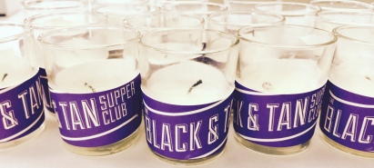 Custom Wrapped Votive Candles