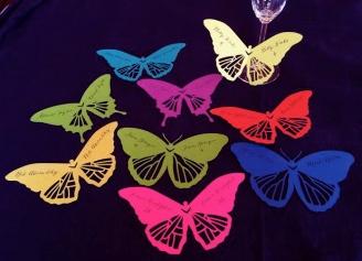 Champagne Butterflies